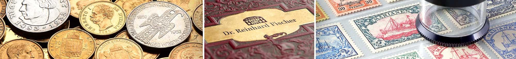 Online Katalog Dr Reinhard Fischer Auktionshaus Für Briefmarken